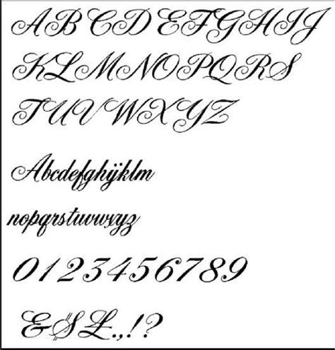 tattoo fonts no download lettering style for android apk