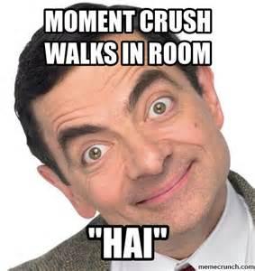 Meme Crush - mr bean crush face by michael tims
