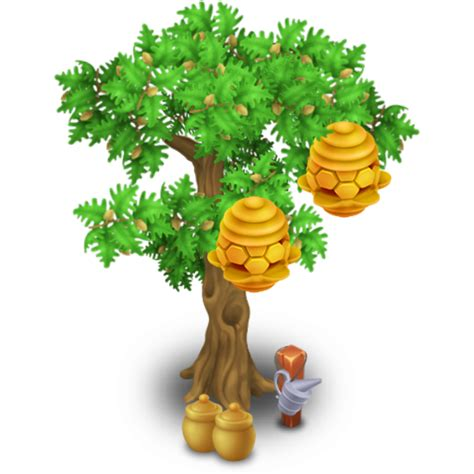 image beehive tree stage 2 png hay day wiki fandom