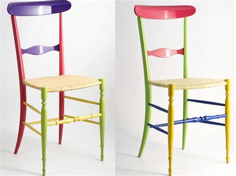 sedie paglia colorate le sedie di chiavari fatte a mano la casa in ordine