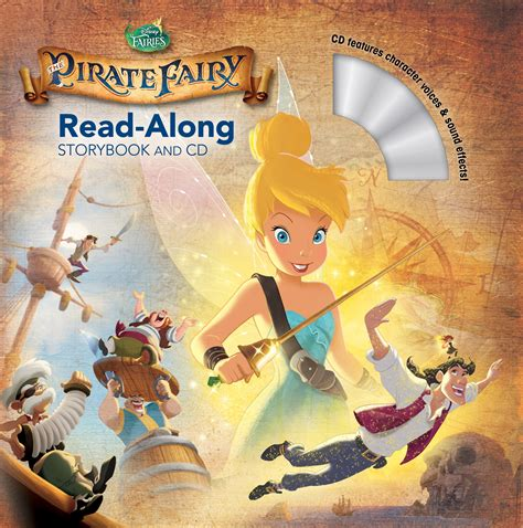 grump groan growl books tinker bell and the pirate read along storybook