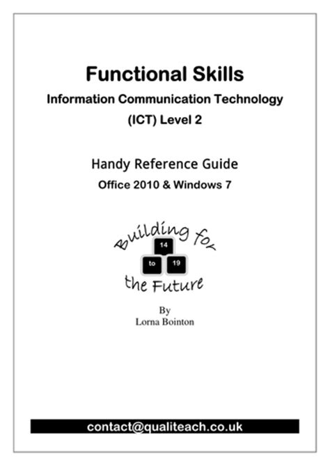 layout features functional skills outlook email 2013 quick steps training guide by