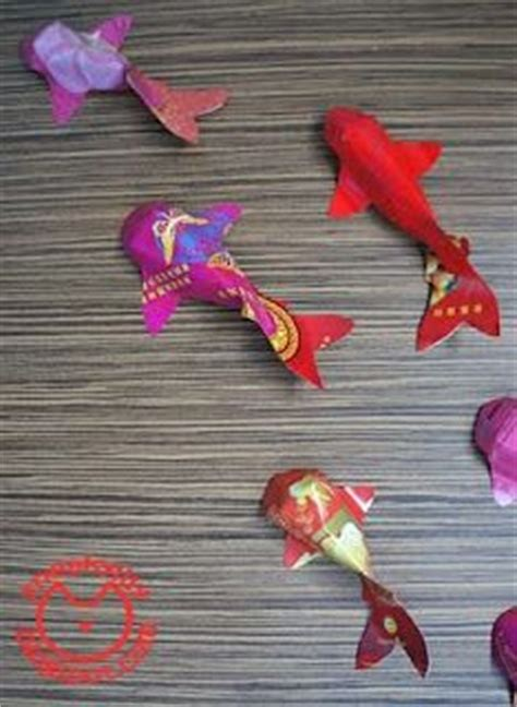 new year diy goldfish eat your out craft gold fish lantern for