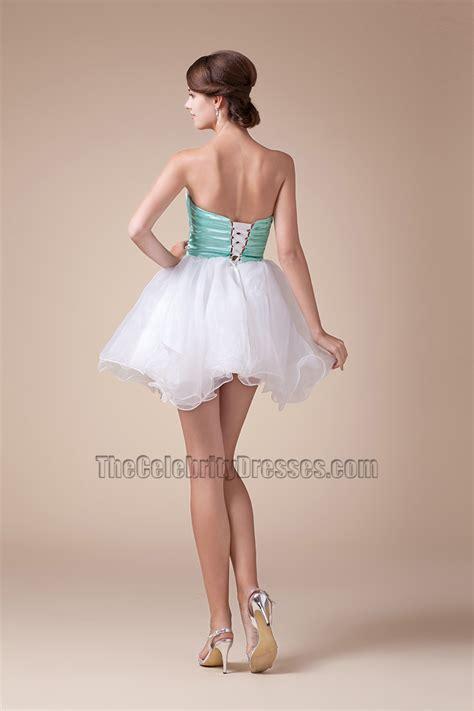 Sweet Mini Dress strapless mini a line sweet 16 dresses
