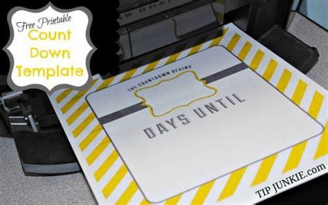 Countdown Calendar Printable Template Stripe Count Calendar Free Printable Tip