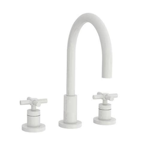white bathroom faucets n990 50 east linear 8 widespread bathroom faucet white at shop ferguson