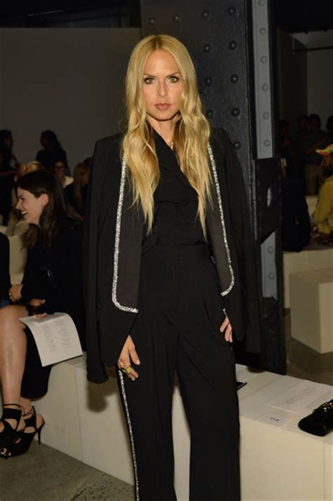 New York Fashion Week Front Row Zoe Hathaway Gisele And Co zoe photos proenza schouler front row