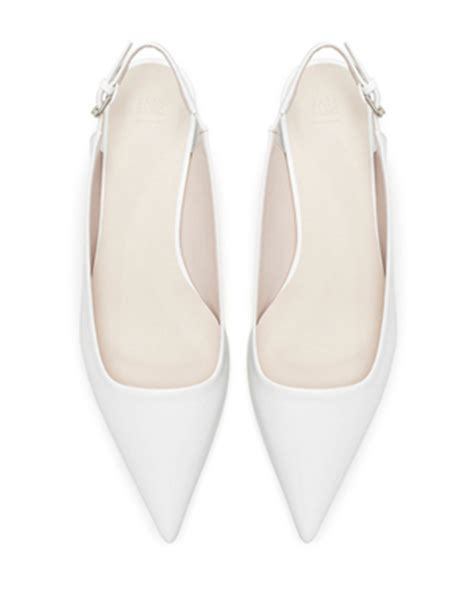white flat pointed shoes new season flat shoes stylenest