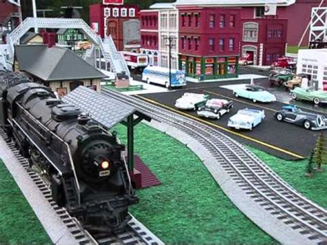 Outdoor o scale model trains wmv youtube