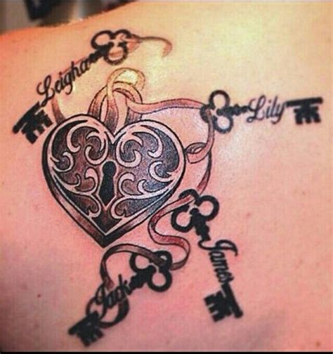 pin up name tattoo ideas lick key tattoo lock key tattoos pinterest key