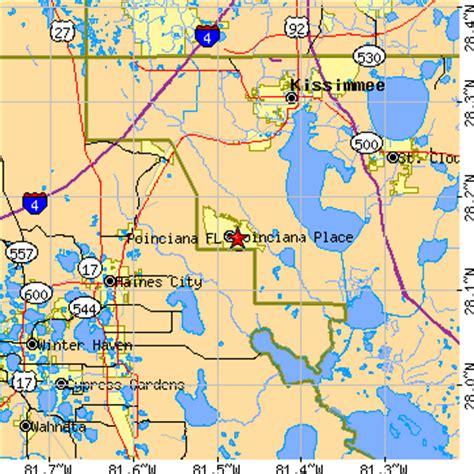 poinciana florida map poinciana florida fl population data races housing
