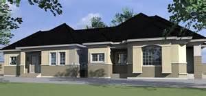 Floor Plans For Duplex Houses 4 bedroom bungalow house plans nigerian design 4 bedroom
