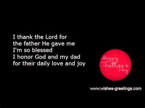 biblical fathers day poems religious christian fathers day poems and verses