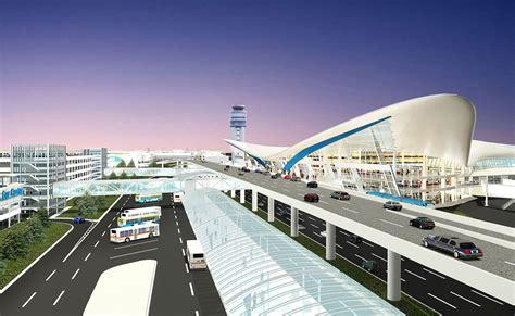 new 1 3 billion airport terminal considered in columbus columbusunderground