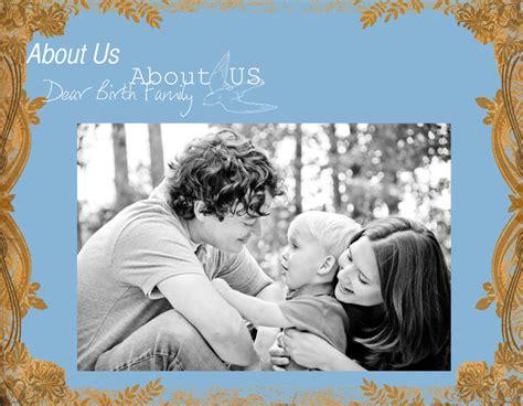 Photo Book Template Adoption Profile Book Quick Album Prestophoto Adoption Book Template