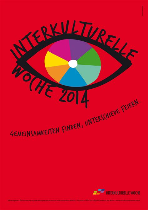 Plakat X Files by Auge 2014 Interkulturelle Woche