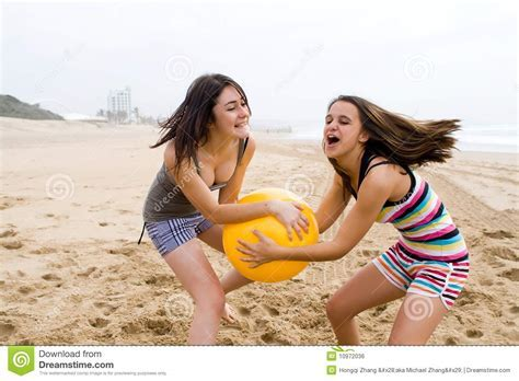 Game Stock Photo Image Of Friendship Beach Looking