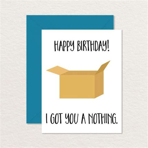 printable birthday cards for a brother printable birthday card funny birthday card i got by