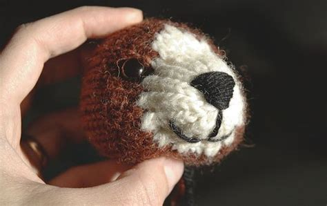 embroider on knitted toys tutorial how to embroider a nose and on a knitted