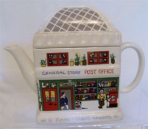 The Office Teapot by Wade Vintage Novelty Teapot The Post Office