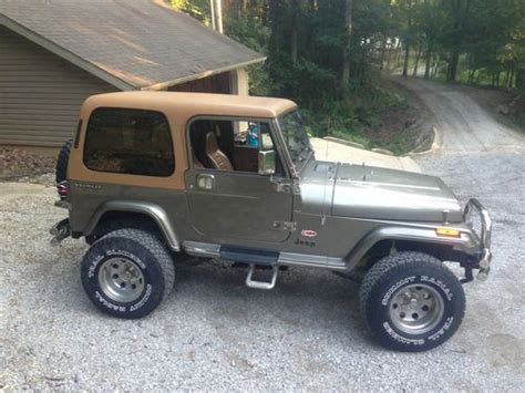 10000 Jeep Wrangler Sell Used Jeep Wrangler Cummins 4bt In Chester Illinois