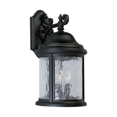 Progress Landscape Lighting Progress Outdoor Wall Light With Clear Glass In Textured Black Finish P5650 31 Destination