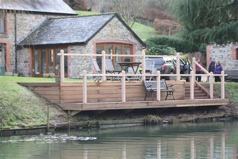 Lakeside Decking   The Wooden Workshop   Oakford, Devon