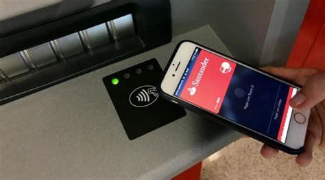 banco santander cajeros santander permite sacar dinero cajero con el m 243 vil