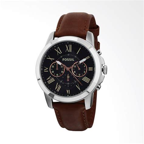 Jam Tangan Fossil Fs014 Brown jual fossil fs4813 jam tangan pria brown black