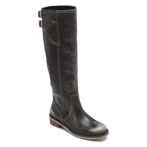 black boots for lucky brand women s andria boots in black ceecp