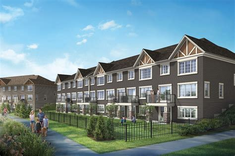 mattamy homes brings new townhome architectural style to