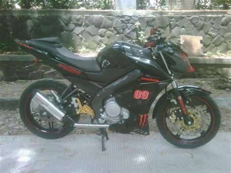Visor Rr Lama Logo Bening Dan Hitam modifikasi new vixion simpel fighter modifikasi motor