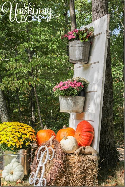 fall decorations for the home fall porch decor with plants and pumpkins unskinny boppy