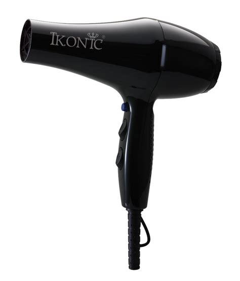 Hair Dryer In Low Price ikonic hd2500 hair dryer black buy ikonic hd2500 hair