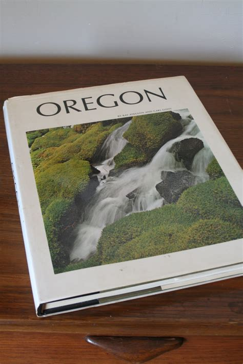 Hardcover Coffee Table Books Items Similar To Oregon Hardcover Coffee Table Book With Dust Jacket Second Printing Vintage