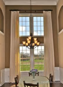Two Story Curtains Two Story Curtains Traditional Family Room Nashville By Camille Window