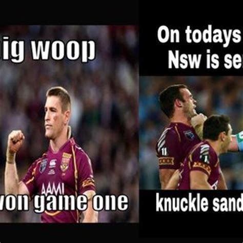 Nsw Blues Memes - vote for your fave meme in our state of origin meme off