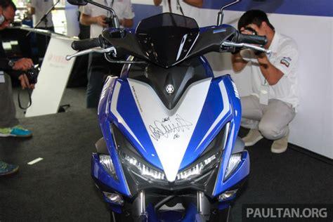 Stiker Striping Motor Stiker Aerox 155 Anniversary Motogp Grade A yamaha nvx 155 telah rilis di malaysia dengan valentino