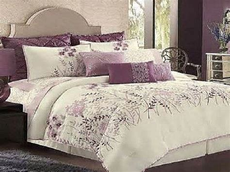 Bedspreads And Comforters by Comfortable White And Purple Bedding Bedspreads Ideas