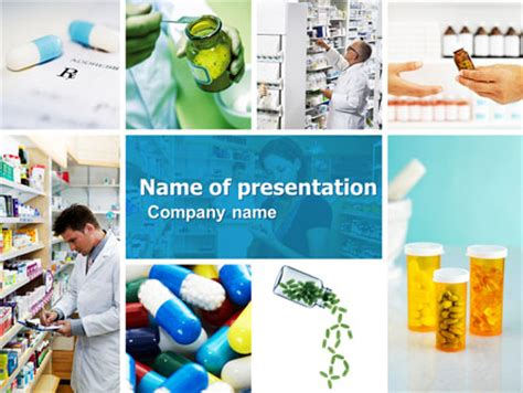 pharmacy layout design ppt pharmacy collage presentation template for powerpoint and