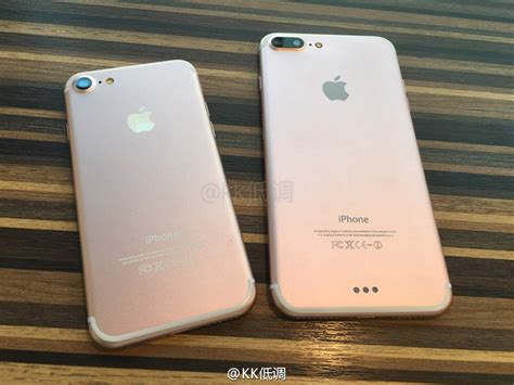 Iphone 7 Plus iphone 7 and iphone 7 plus leaked units show dual cameras