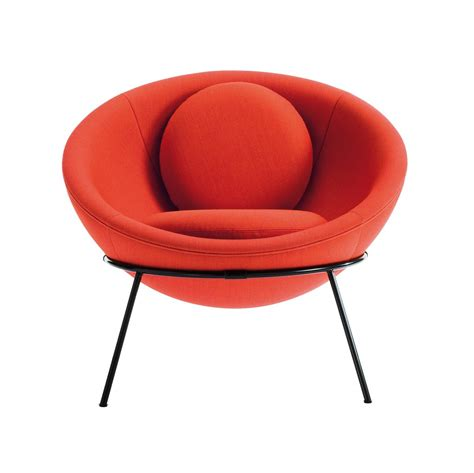 bardi s bowl chair by arper is the perfect pop