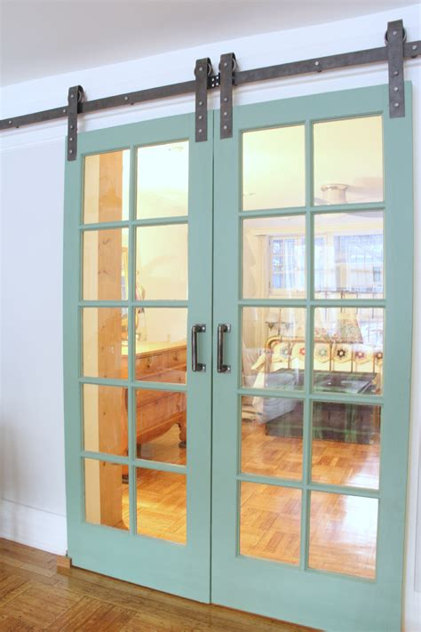 Monday Makeover Installing A Barn Door And Suzannes New Barn Doors In Homes