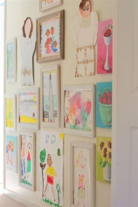 ways to display artwork 20 interesting ideas to display kids artwork kidsomania