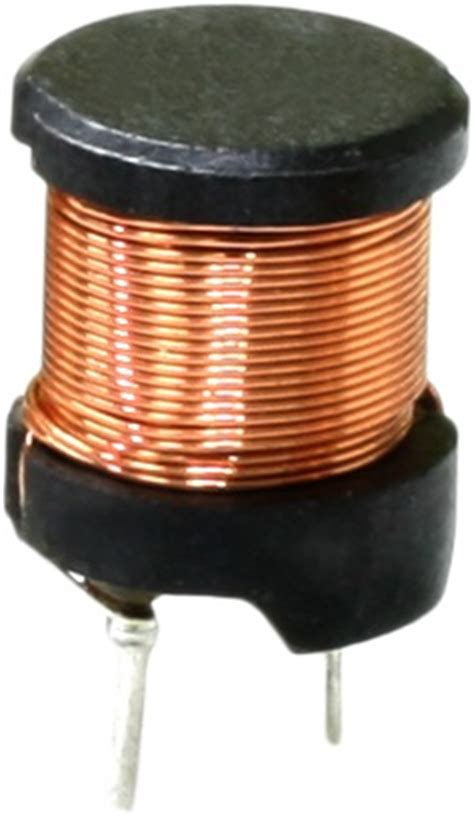 master inductor through and radial inductor inductor leaded