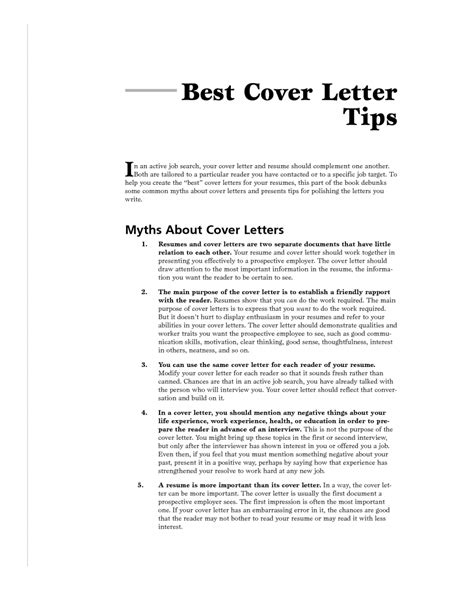 sle of excellent cover letter guamreview com