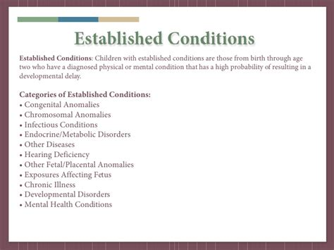 Parisae Condition Ae Mental Not Physical by Miaeyc Early Childhood March 2011