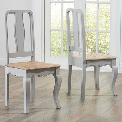 Grey Painted Dining Room Furniture Seville Grey Painted Distressed Dining Table With 6 Chairs