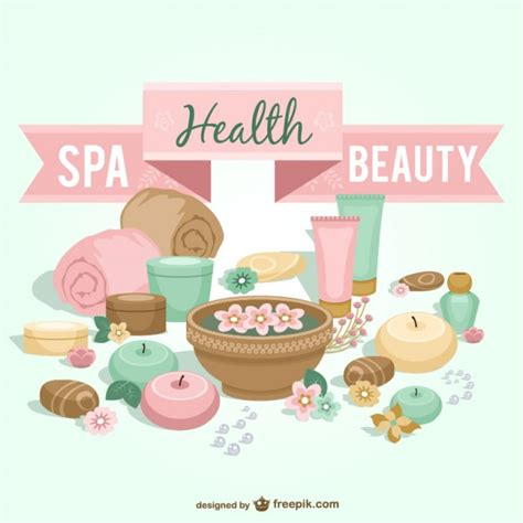 Where Can I Use A Spa And Wellness Gift Card - spa health and beauty vector art vector free download