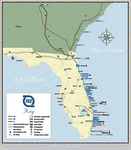 Florida Map East Coast by Florida East Coast Map Related Keywords Amp Suggestions